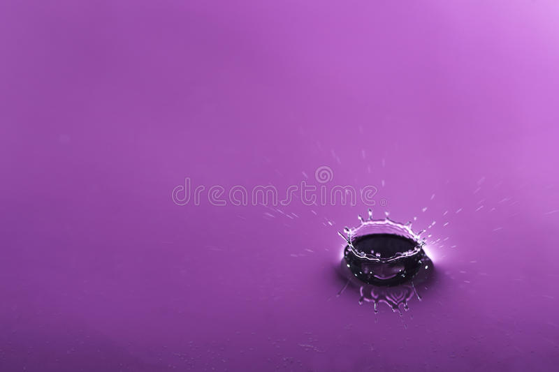 Gotita de agua foto de archivo