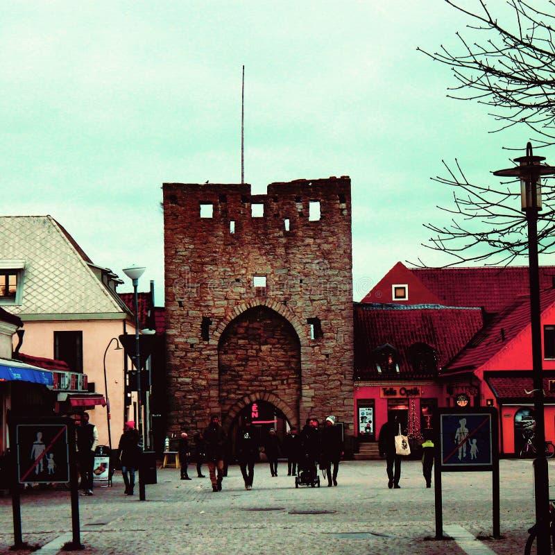 Gotland magic stock images