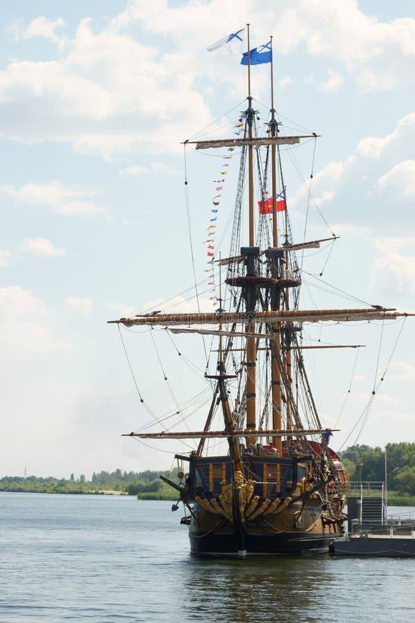 Goto ödesbestämdhet för linjärt skepp i Voronezh arkivfoton