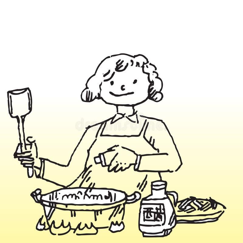 gotować ilustracji