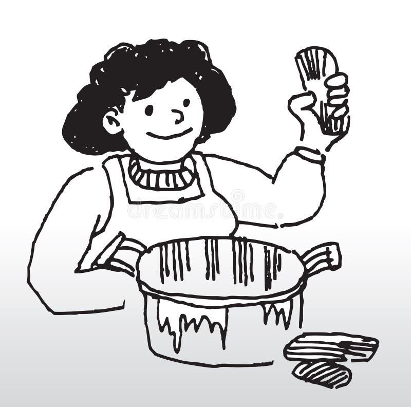 gotować ilustracja wektor