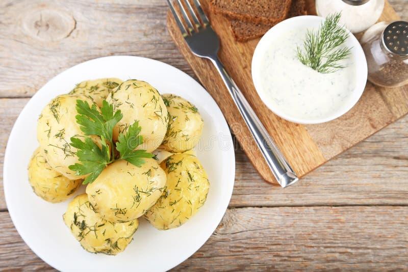 gotowane ziemniaki obrazy stock