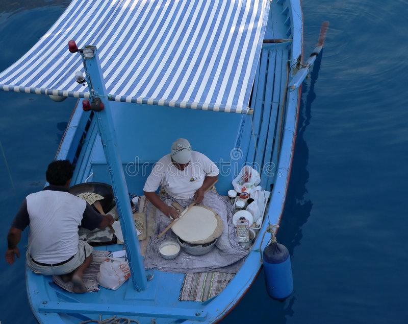 gotowanie łodzi obrazy stock