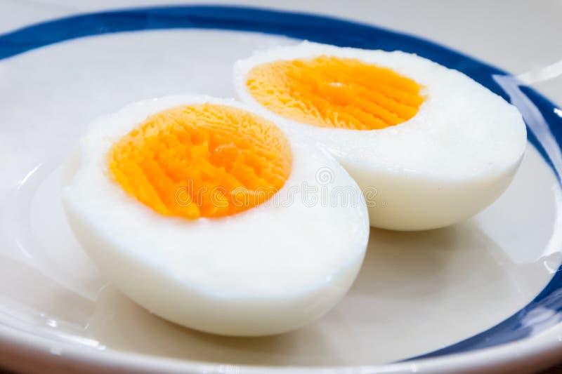 Gotowany jajko obrazy stock