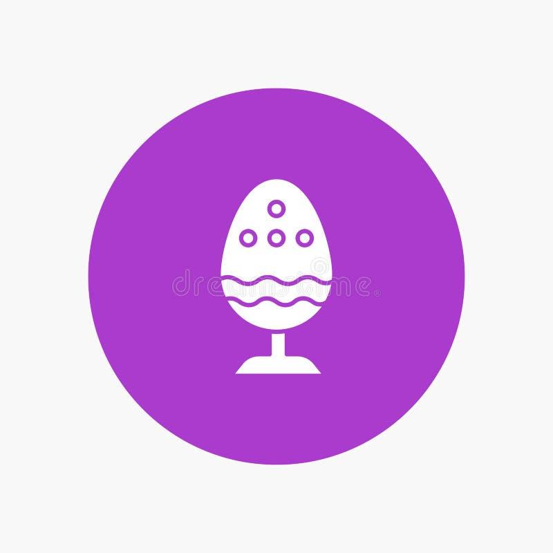 Gotowany, Gotowany jajko, wielkanoc, jajko, jedzenie ilustracja wektor