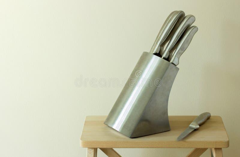 gotowe knifes kuchenne obrazy royalty free