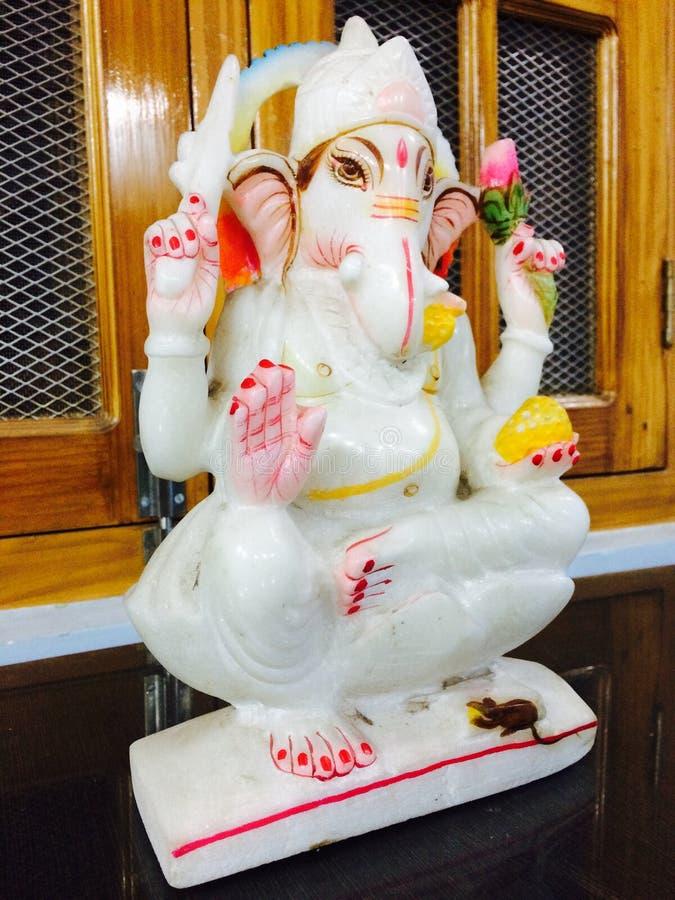 Gott Ganesh stockbild
