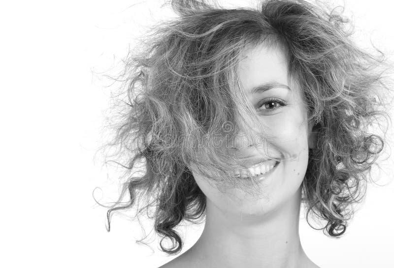 gott hår för dag arkivfoton