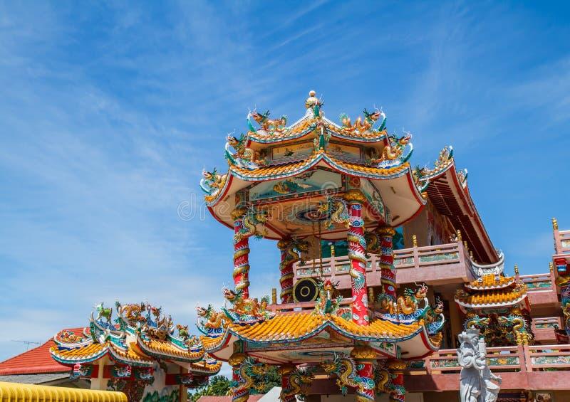 Gott Naja-Chinesetempel lizenzfreie stockbilder