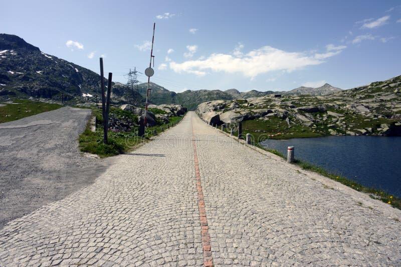 Gotthard przepustki droga, Ticino, Szwajcaria obraz stock