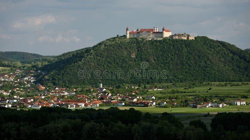 Gottweig修道院,瓦豪,奥地利 免版税库存图片