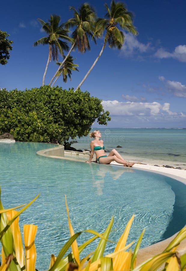 gotuje tropikalnego wyspa raj zdjęcia royalty free