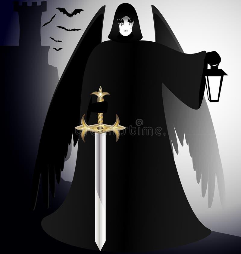 Gotyk royalty ilustracja