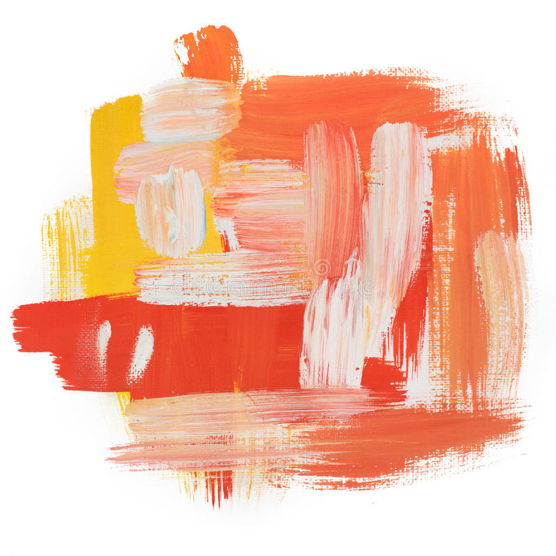 Gouache acrylic art paint brush rough dab stroke. Art paint brush rough dab stroke texture spot blotch stock images