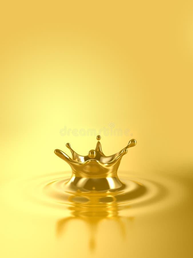 Goud royalty-vrije illustratie