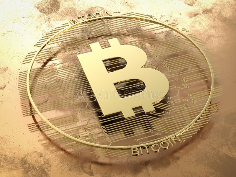 Goud bitcoin of digitale munt