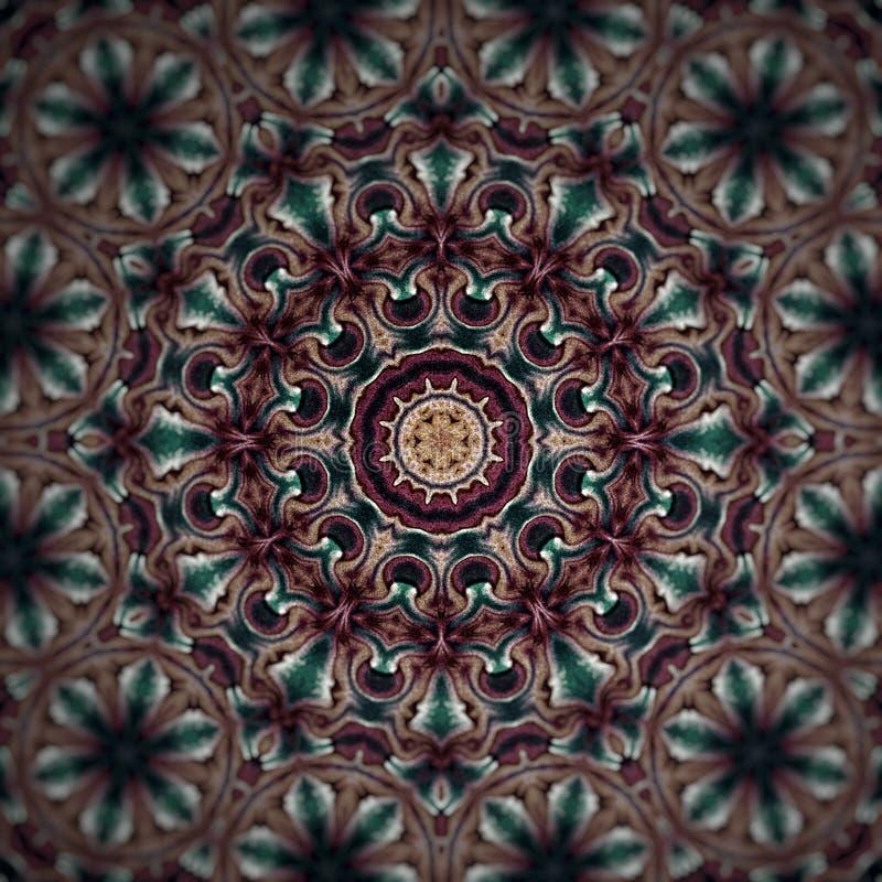 Goud en Diamond Mandala vector illustratie