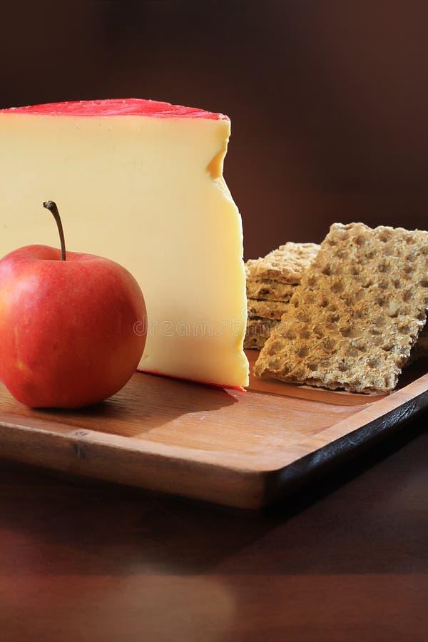 gouda сыра стоковое изображение