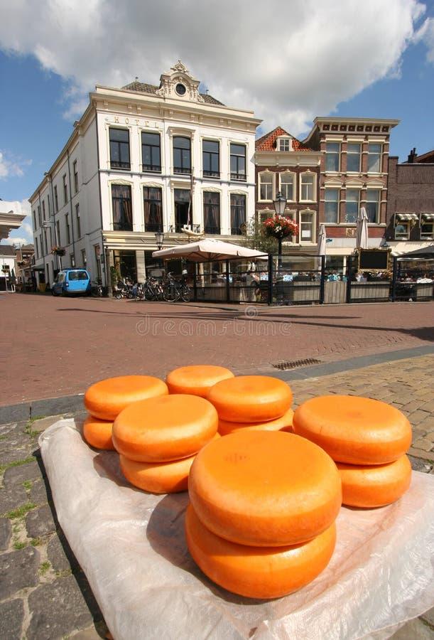 gouda del formaggio fotografia stock libera da diritti