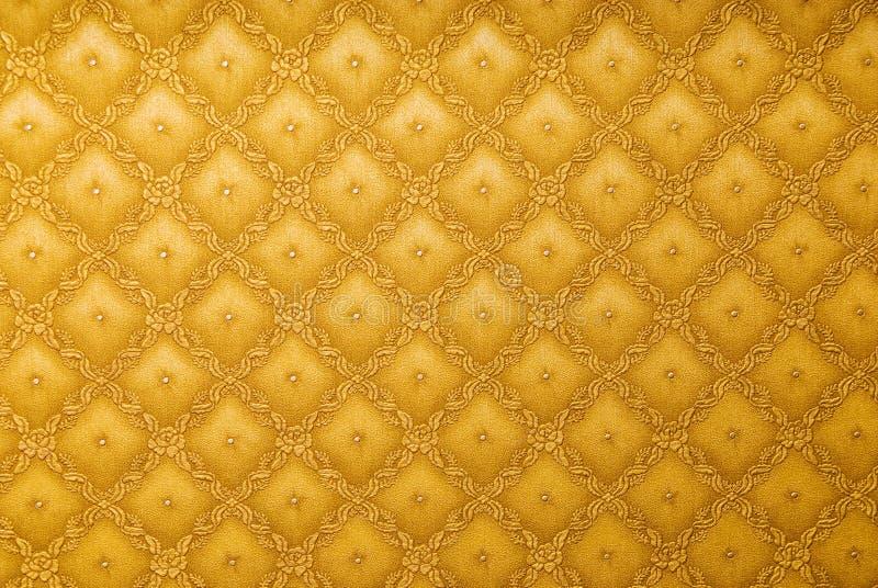 Gouden abstract behang royalty-vrije stock foto's