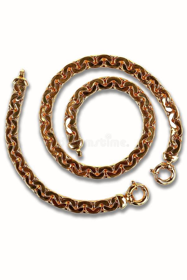 Gouden armband royalty-vrije stock foto's