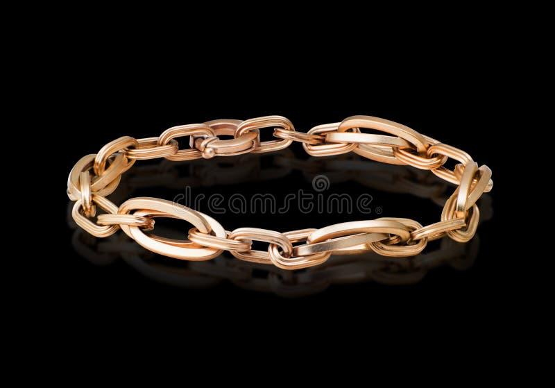 Gouden armband stock foto