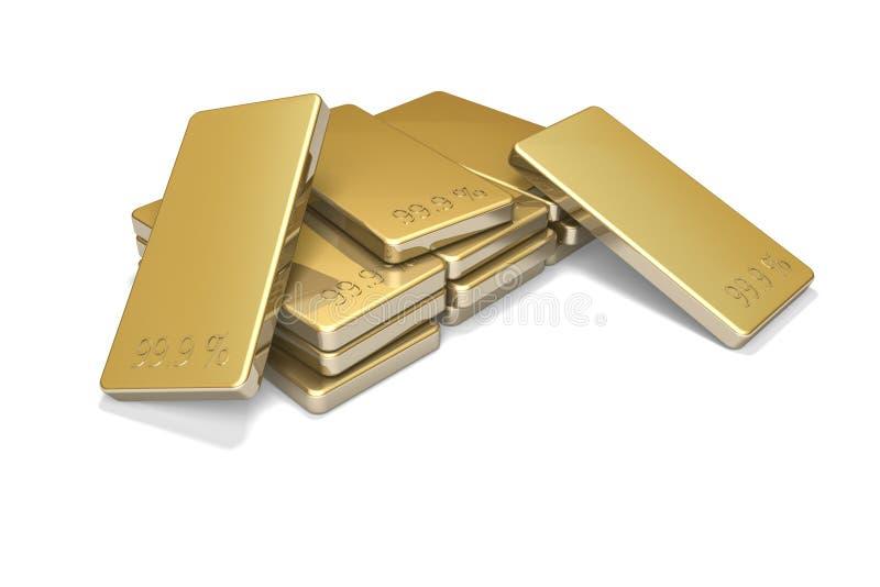 Gouden Baren 2 royalty-vrije illustratie