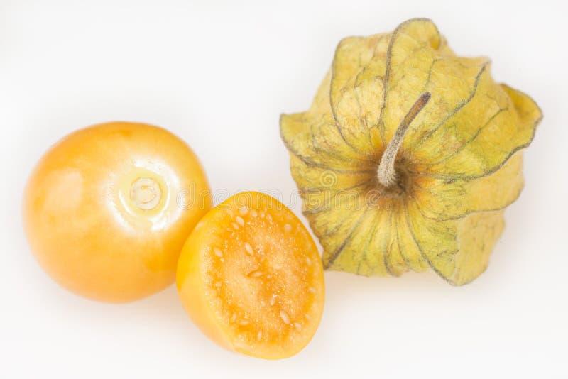 Download Gouden Bes, Uchuva - Physalis-peruviana Stock Afbeelding - Afbeelding bestaande uit reus, sinaasappel: 114226257
