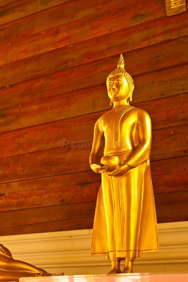 Gouden Boedha stock afbeelding