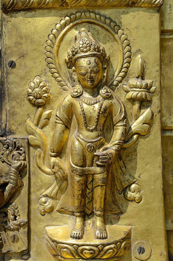 Download Gouden Boedha stock afbeelding. Afbeelding bestaande uit concepten - 29500213