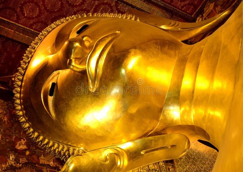 Gouden Boedha royalty-vrije stock fotografie