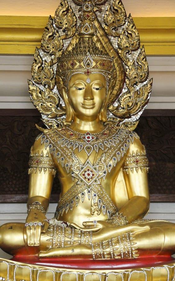 Gouden Boedha wat saket Bangkok royalty-vrije stock foto's