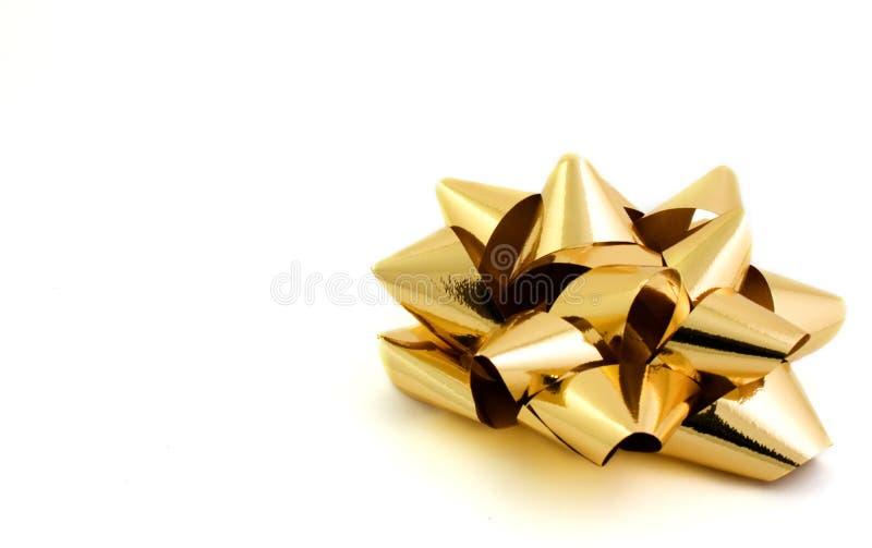 Gouden boog royalty-vrije stock afbeeldingen