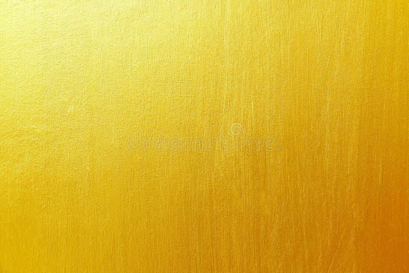 gouden cement en concrete textuur voor patroon en achtergrond stock afbeeldingen