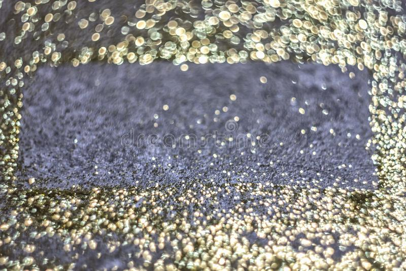 Gouden de luxe glanst achtergrond Gouden schitter textuur voor een Chr royalty-vrije stock afbeeldingen