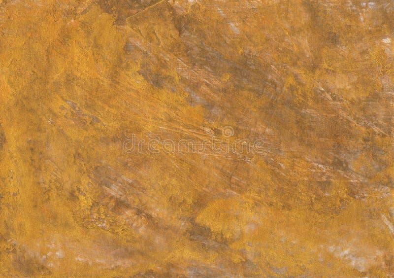 Gouden de textuurachtergronden van het foliebrons stock afbeelding