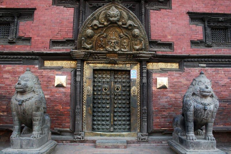 Gouden deur stock fotografie