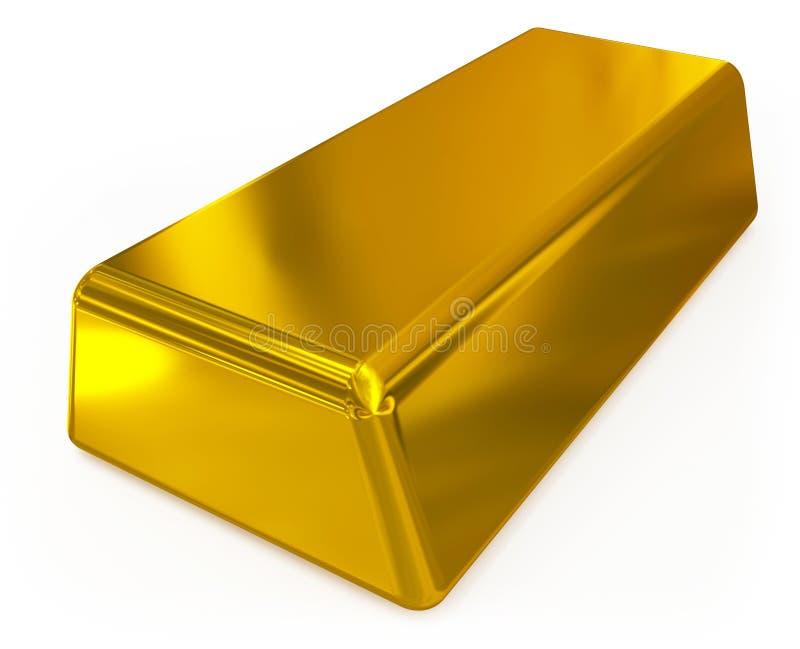 Gouden bar vector illustratie