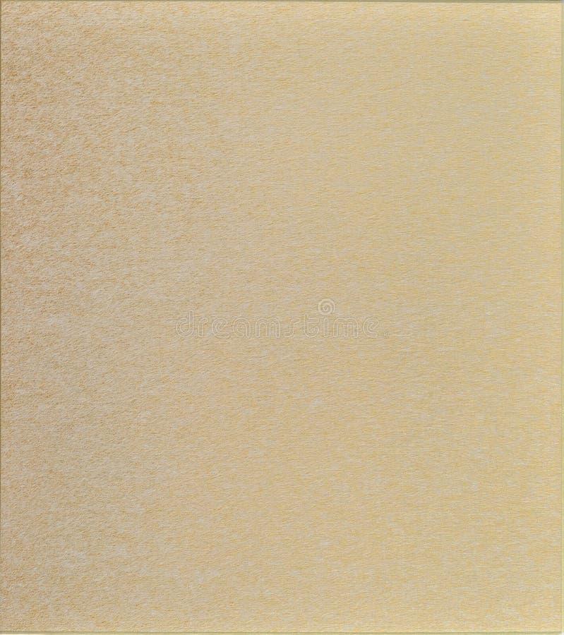 Gouden document stock afbeelding