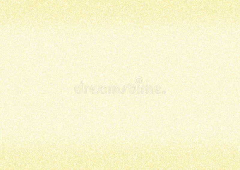 Gouden document textuur stock illustratie