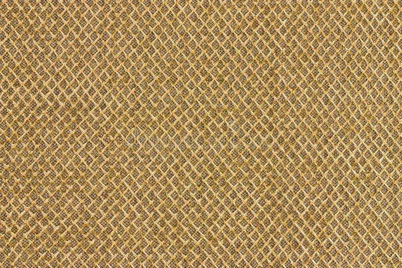 Gouden doekpatroon royalty-vrije stock foto's