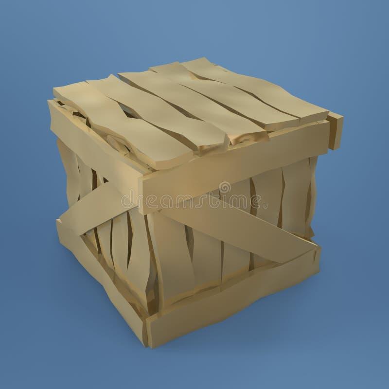 Gouden doos stock foto's
