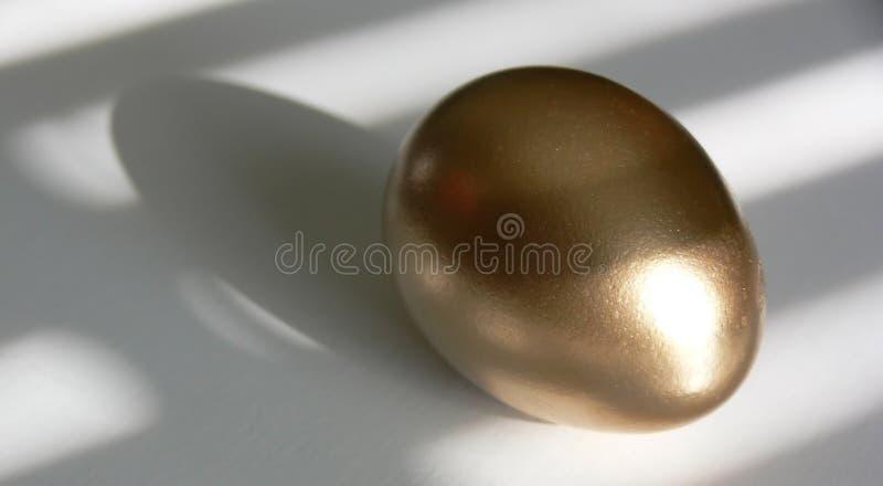 Gouden Ei stock afbeelding