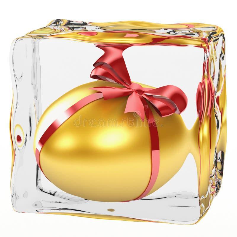 Gouden Ei vector illustratie
