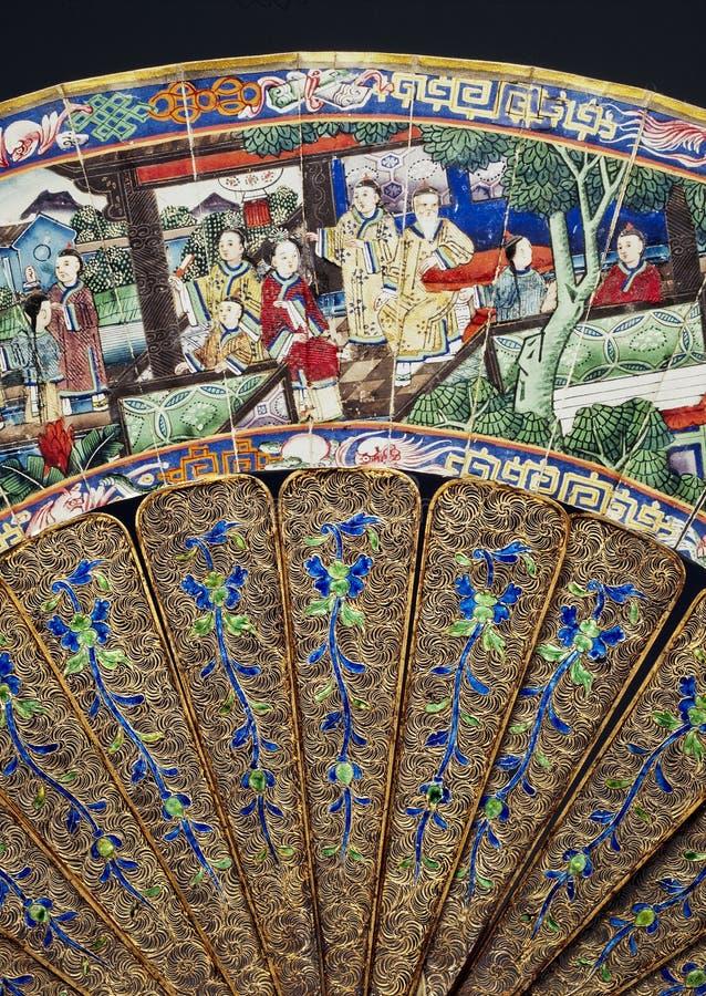 Gouden en zilveren filigraan royalty-vrije stock afbeelding