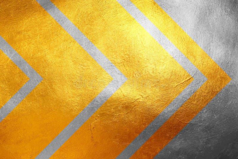 Gouden en zilveren schitterend grungy textuurpatroon, creatieve/unieke luxueuze abstracte achtergrond Het element van het ontwerp stock foto