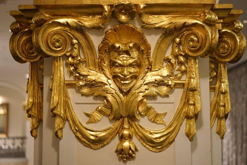 Gouden era van Bacchus stock foto's