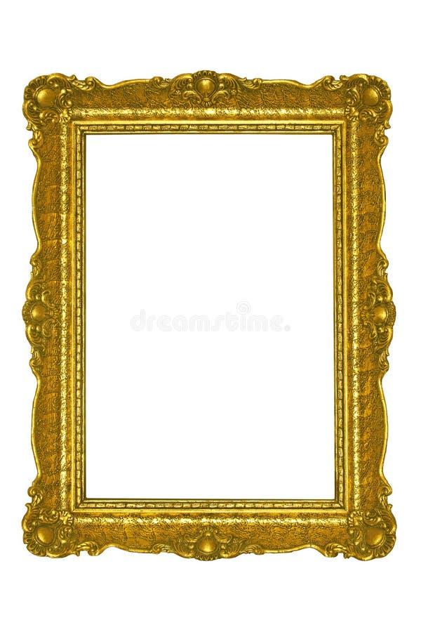 Gouden frame royalty-vrije stock afbeeldingen