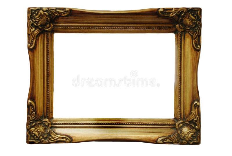 Gouden frame royalty-vrije stock afbeelding