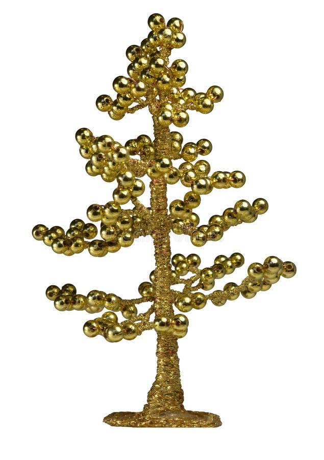Gouden geldboom stock foto